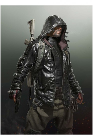 Playerunknown's Battlegrounds Leather Jacket