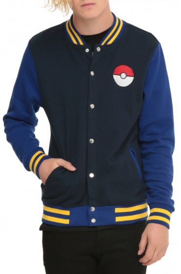Pokemon Go Varsity Jacket