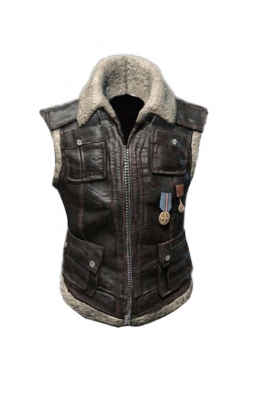Pubg Sleeveless Leather Vest