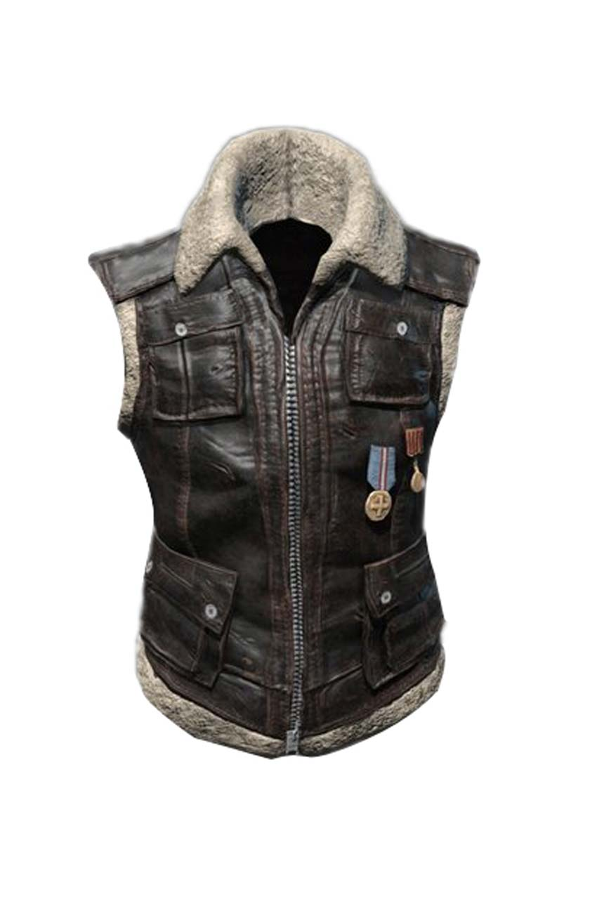 b9010172c9f2a0 Pubg Sleeveless Biker Vest - Movies Jacket