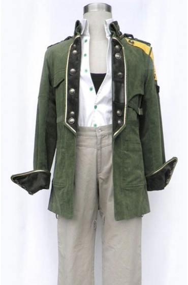 Sazh Katzroy Final Fantasy 13 Coat
