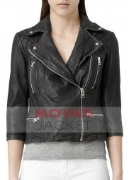 Selina Kyle Gotham Camren Bicondova Leather Jacket