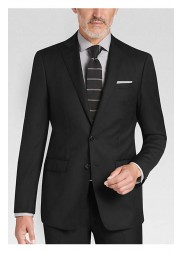 Slenderman Black And White Suit