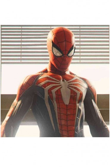 Spiderman PS4 Leather Costume Jacket