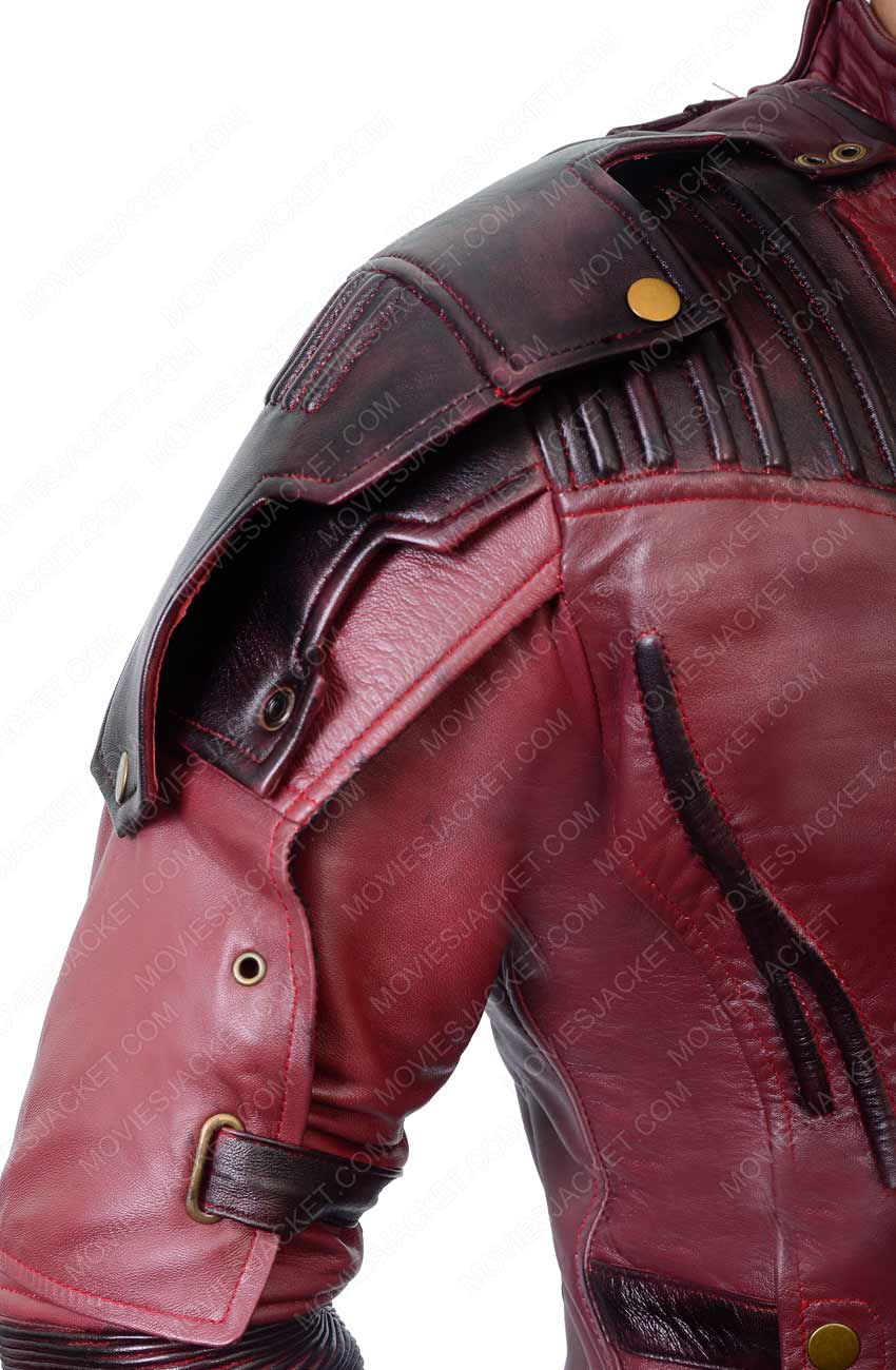 Guardians of The Galaxy Vol 2 Movie Star Lord Leather Jacket