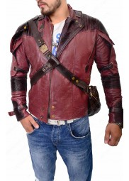 "Star Lord Guardians of The Galaxy Vol 2 Jacket ""Free T-Shirt"""