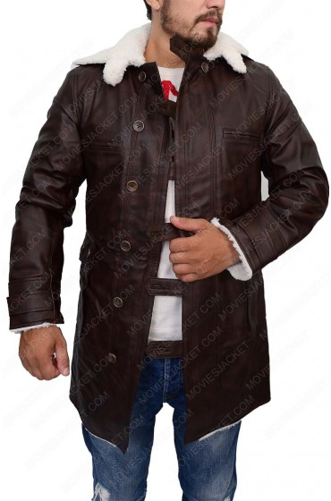The Dark Knight Rises Tom Hardy Black Bane Coat