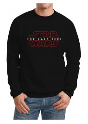 The Last Jedi Long Sleeve Black Sweatshirt
