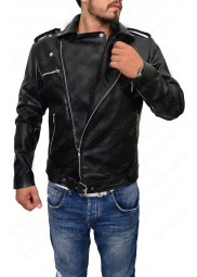 The Walking Dead Negan Motorcycle Leather Jacket