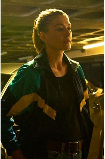 The Informer Rosamund Pike Jacket