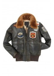Top Gun Womens Leather Jacket