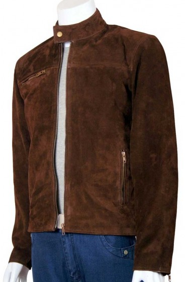 Tom Cruise Mission Impossible Brown Suede Jacket