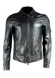 Topher Grace Spider-Man 3 Black Leather Jacket