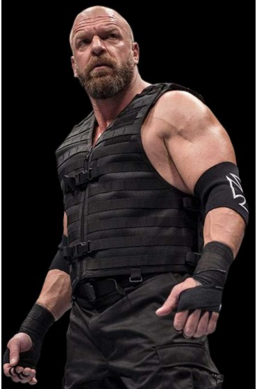 Triple H The Shield Black Vest