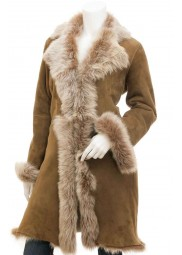 Women Toscana Shearling Coat