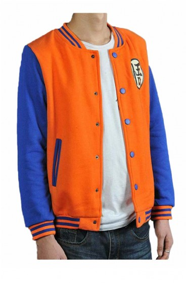 Z Goku Varsity Dragon Ball Jacket