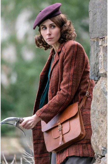 A Call to Spy Virginia Hall Brown Coat