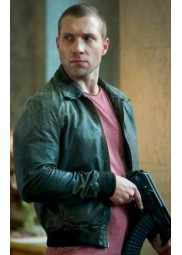 A Good Day to Die Hard Movie Jai Courtney Leather Jacket