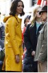 A Rainy Day In New York Elle Fanning Leather Coat