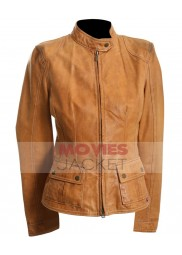 The Avengers Movie Scarlett Johansson Leather Jacket