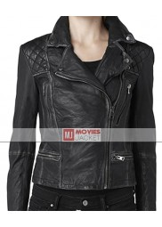 Agents of SHIELD Daisy Johnson Black Leather Jacket