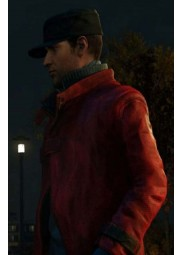 Aiden Pearce Watch Dogs Red Coat