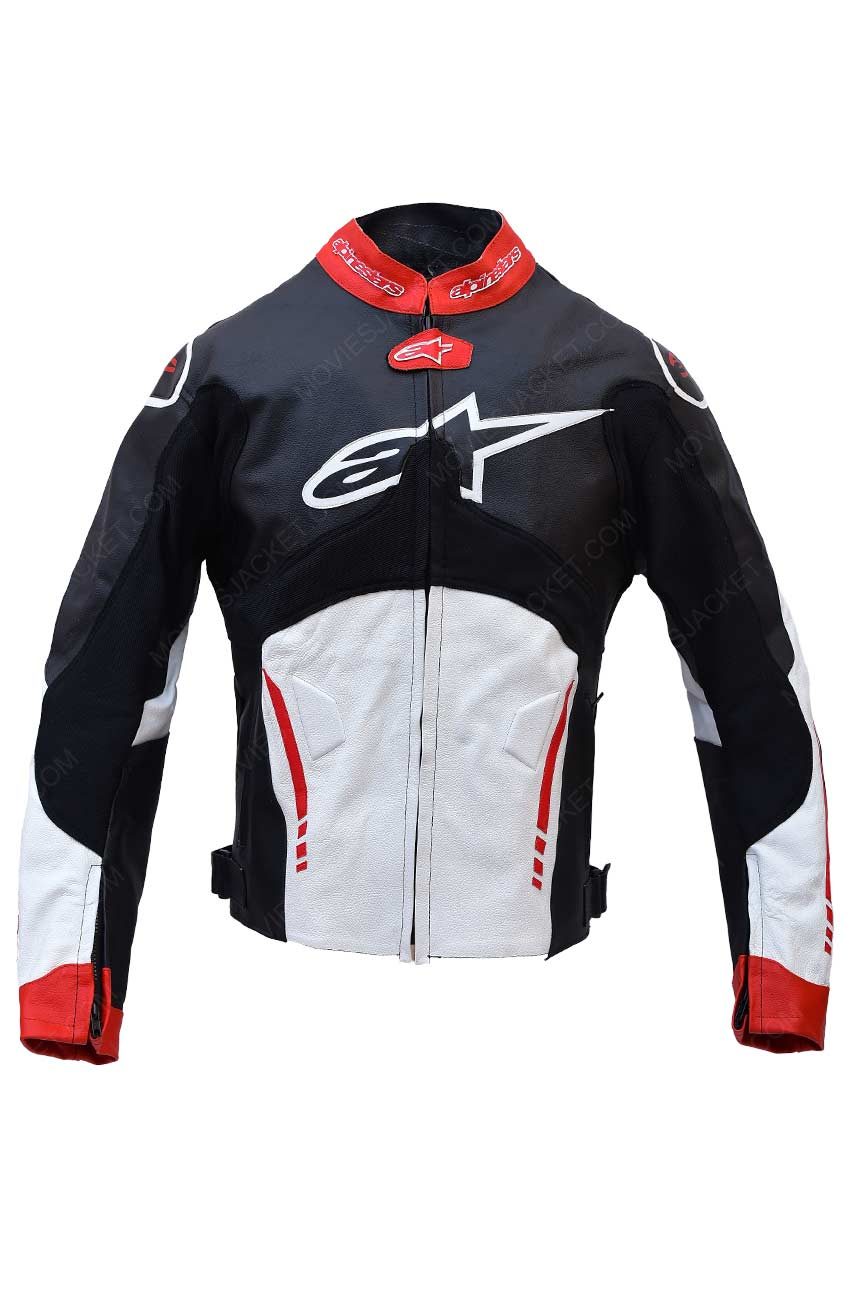 Alpinestars Motorcycle Jacket >> Alpinestars Atem Leather Jacket Biker Jacket Movies Jacket