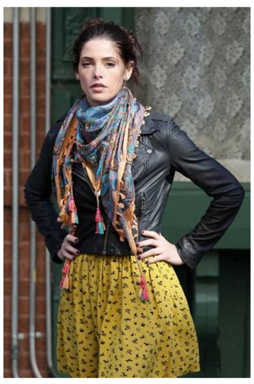Alice Garano Americana Ashley Greene Leather Jacket