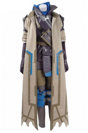 Overwatch Ana Coat With Leather Vest