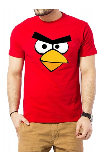 Men's Angry Birds Red T-Shirt