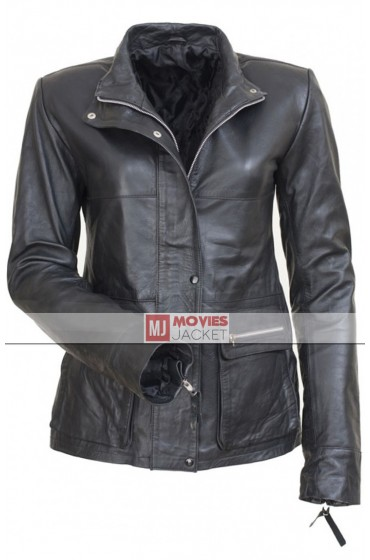 I Am Legend Alice Braga Leather Jacket