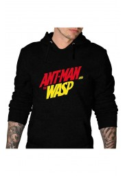 Ant Man and the Wasp Black Cotton Hoodie