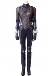 Ant man And The Wasp Evangeline Lilly Leather Jumpsuit