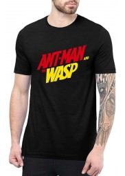 Ant Man And The Wasp Black T Shirt