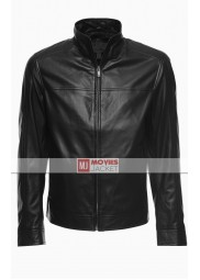 Arrow Oliver Queen Black Leather Jacket