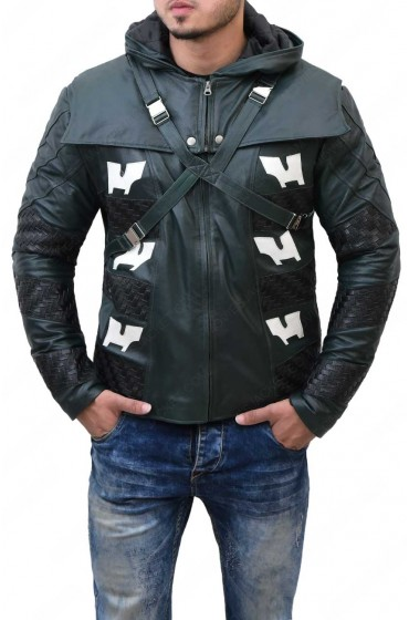 Prometheus Arrow Season 5 Leather Jacket