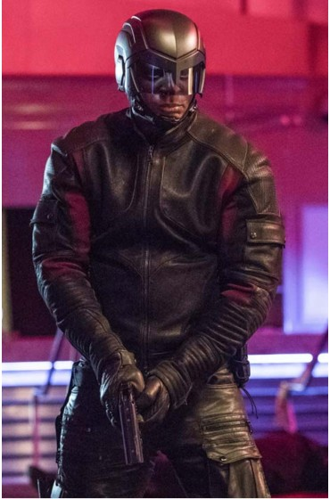 Arrow S06 John Diggle Jacket
