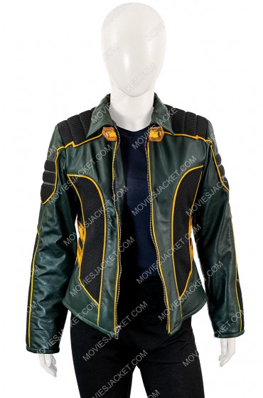 Arrow Spinoff Black Canary Leather Jacket
