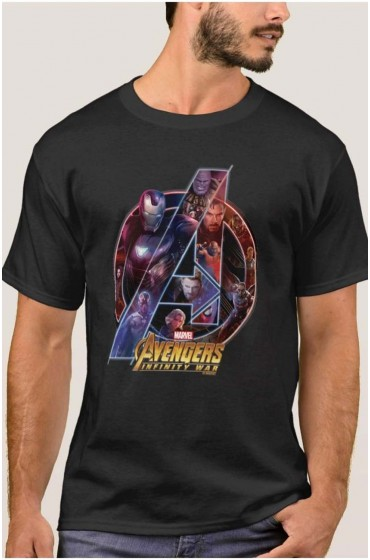 Avengers: Infinity War Heroes In A Icon T-shirt Free T-Shirt