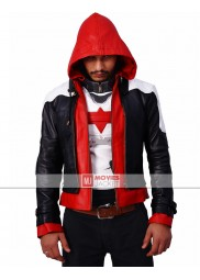 Batman Arkham Knight Red Hood Hoodie Jacket