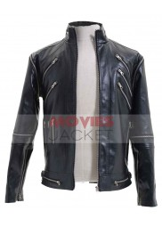 Beat It Leather Michael Jackson Black Jacket