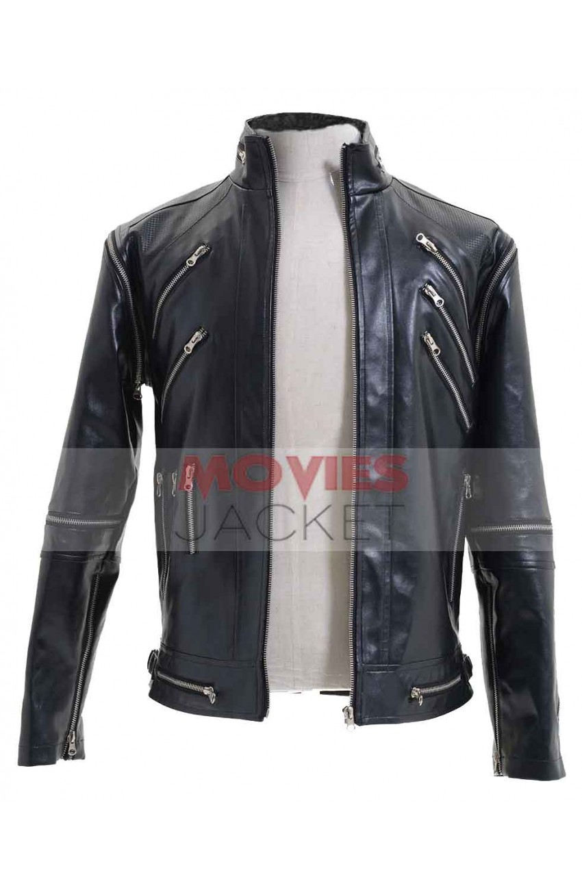 It Leather Michael Jackson Black Jacket