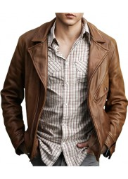 Beautiful Creatures Movie Alden Ehrenreich Leather Jacket