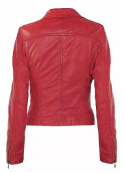Ben 10 Alien Swarm Alyssa Diaz Red Leather Jacket