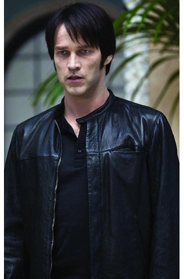 True Blood Bill Compton Leather Jacket