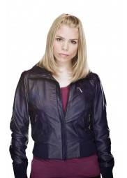 Billie Piper Doctor Who Rose Tyler Leather Jacket