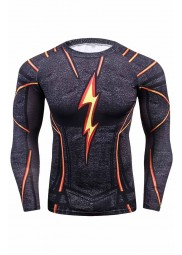 Black Flash Mens Shirt