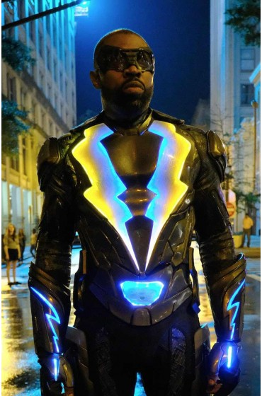 Black Lightning Cress Williams Jacket