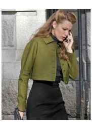 Blake Lively Movie The Age of Adaline Short Green Jacket