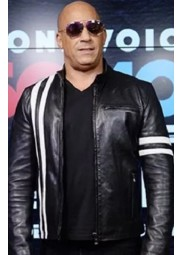 Bloodshot Vin Diesel Leather Jacket